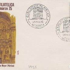 Sellos: AÑO 1975 EDIFIL 1935 SPD FDC EXPO FILATELICA ALCAÑIZ. Lote 254356065