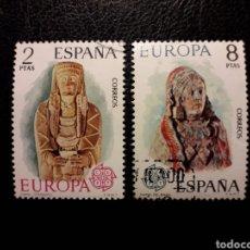 Sellos: ESPAÑA EDIFIL 2177/8 SERIE COMPLETA USADA 1974. EUROPA CEPT. PEDIDO MÍNIMO 3€. Lote 254466595