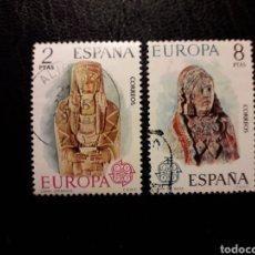 Sellos: ESPAÑA EDIFIL 2177/8 SERIE COMPLETA USADA 1974. EUROPA CEPT. PEDIDO MÍNIMO 3€. Lote 254466610