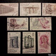 Sellos: ESPAÑA EDIFIL 2184/91 SERIE COMPLETA USADA 1974 ROMA-HISPANIA. PEDIDO MÍNIMO 3€. Lote 254466805
