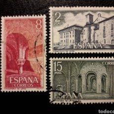 Timbres: ESPAÑA EDIFIL 2229/31 SERIE COMPLETA USADA 1974. MONASTERIO DE LEYRE. PEDIDO MÍNIMO 3€. Lote 254648695