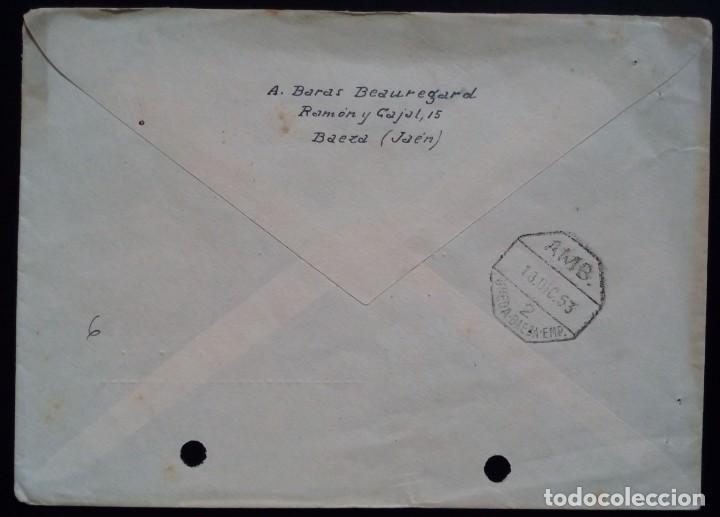 Sellos: BAEZA JAEN 1953 FRANCO AMBULANTE UBEDA BAEZA EMP - Foto 2 - 254924090