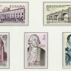 Sellos: 1969. ESPAÑA. EDIFIL 1939/43**MNH. YVERT 1596/1600. FORJADORES DE AMÉRICA. HISTORIA.. Lote 254940295