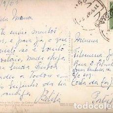 Sellos: ESPANA & CIRCULADO, VIGO, EL CASTRO, MONUMENTO A LAS CUIDOS, COSTA DA CAPARICA PORTUGAL 1963 (2013). Lote 254996870