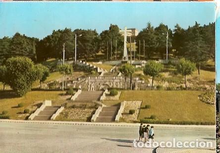 Sellos: Espana & Circulado, Vigo, El Castro, Monumento a las Cuidos, Costa da Caparica Portugal 1963 (2013) - Foto 2 - 254996870