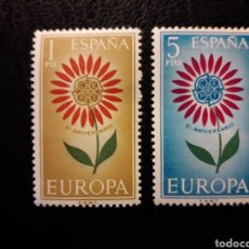 Sellos: ESPAÑA EDIFIL 1613/4 SERIE COMPLETA NUEVA *** 1964 EUROPA CEPT. PEDIDO MÍNIMO 3€. Lote 255423315