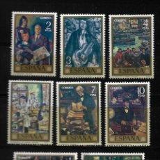 Sellos: II CENTENARIO - DIA DEL SELLO - SOLANA - EDIFIL 2077-84 - 1972. Lote 255933110