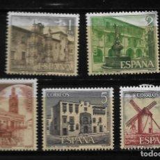Sellos: II CENTENARIO - SERIE TURISTICA - EDIFIL 2129-33 - 1973. Lote 255934655