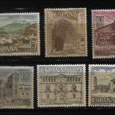 Sellos: II CENTENARIO - SERIE TURISTICA - EDIFIL 1726-35 - 1966. Lote 255935155