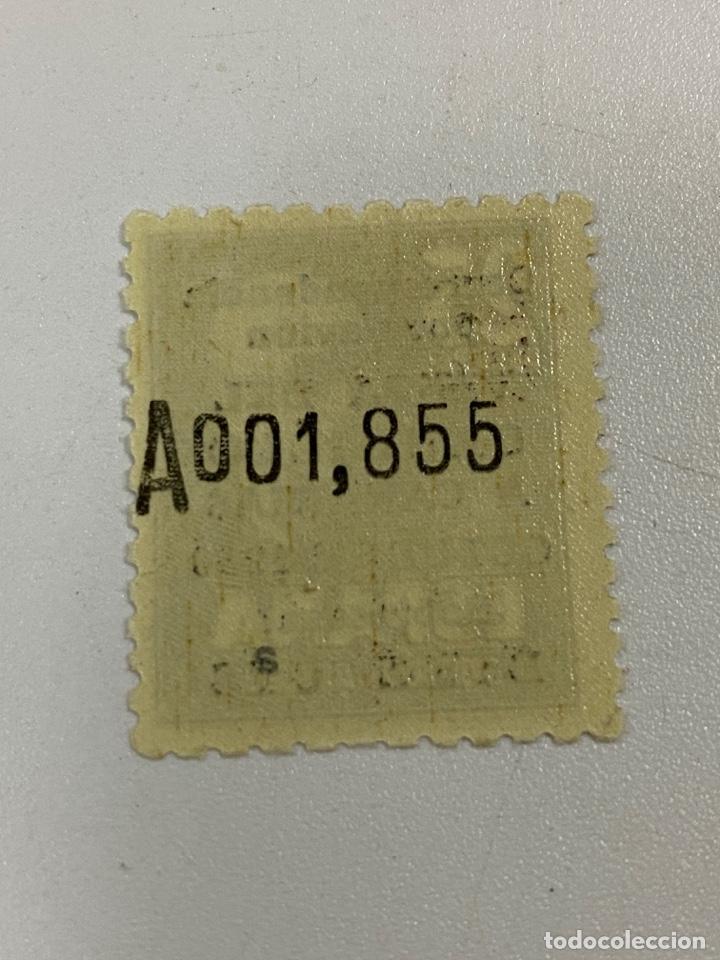 Sellos: EDIFIL Nº 1090. ESPAÑA 1951. VISITA DEL CAUDILLO A CANARIAS. 25 PTAS. NUMERACIÓN AL DORSO.VER - Foto 2 - 258850855