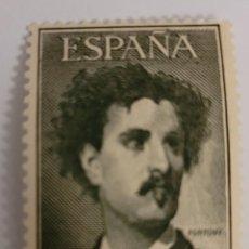 Sellos: SELLO DE ESPAÑA 1956. MARIANO FORTUNY. 25 PTS. NUEVO. Lote 260756600