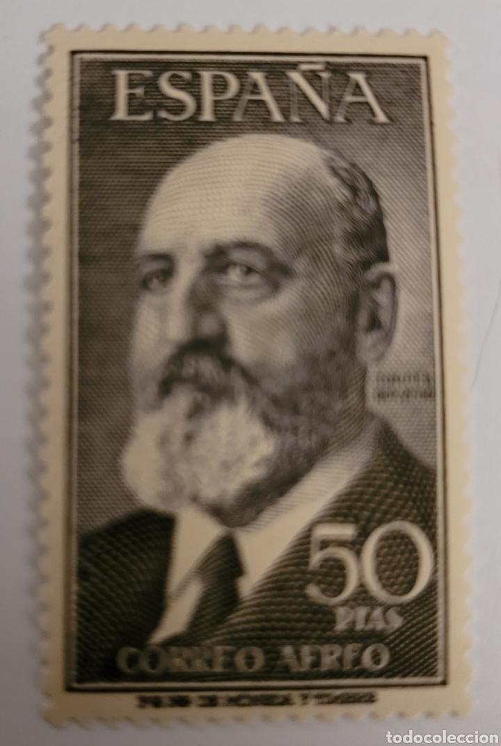 SELLO DE ESPAÑA 1955. LEONARDO TORRES QUEVEDO. 50 PTS. NUEVO (Sellos - España - II Centenario De 1.950 a 1.975 - Nuevos)