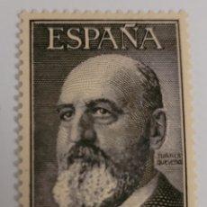 Sellos: SELLO DE ESPAÑA 1955. LEONARDO TORRES QUEVEDO. 50 PTS. NUEVO. Lote 260756965