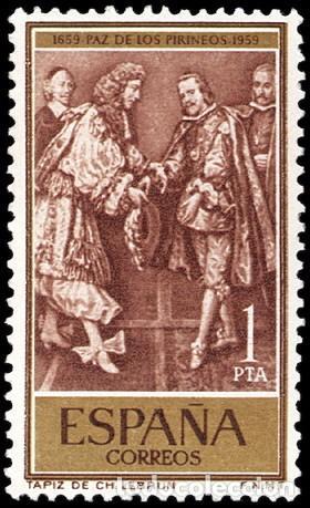ESPAÑA SEGUNDO CENTENARIO Nº 1249 ** PIRINEOS (Sellos - España - II Centenario De 1.950 a 1.975 - Usados)