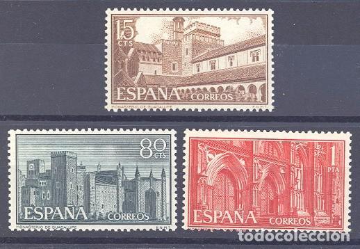 ESPAÑA SEGUNDO CENTENARIO SERIES Nº 1250/53 ** MONASTERIO DE GUADALUPE (Sellos - España - II Centenario De 1.950 a 1.975 - Usados)