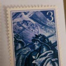 Sellos: SELLO DE ESPAÑA 1956. 20 ANIVERSARIO DE LA REVOLUCIÓN NACIONAL 3 PTS. NUEVO. Lote 261388975