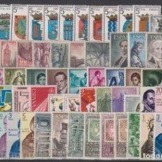 Francobolli: SELLOS ESPAÑA AÑO 1965 COMPLETO Y NUEVO SIN FIJASELLOS MNH. Lote 261533050
