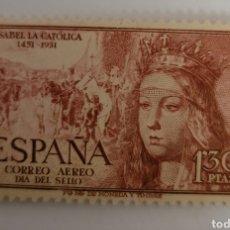 Sellos: SELLO DE ESPAÑA 1951. ISABEL LA CATÓLICA 1.30 PTS. NUEVO. Lote 261655010