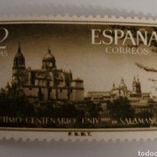 Sellos: SELLO DE ESPAÑA 1953. UNIVERSIDAD Y CATEDRAL DE SALAMANCA. 2 PTS. NUEVO. Lote 262028075