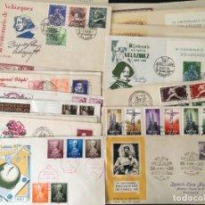 Selos: LOTE DE 41 CARTAS CON MATASELLOS PRIMER DÍA Y MATASELLOS ESPECIALES, FERIAS, EXPOSICIONES, ETC.. Lote 262287660