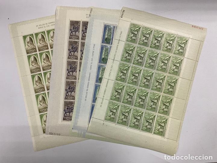 ESPAÑA, 1962. EDIFIL 1444/47. RODRIGO DIAZ DE VIVAR EL CID. SERIE EL CID. NUEVOS. SIN FIJASELLOS. (Sellos - España - II Centenario De 1.950 a 1.975 - Nuevos)