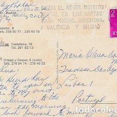 Sellos: ESPANA & CIRCULADO, RESTAURANTES MADRID, ANZAS, BREDA Y LA FRAGUA, LISBOA 1975 (6868). Lote 262962475