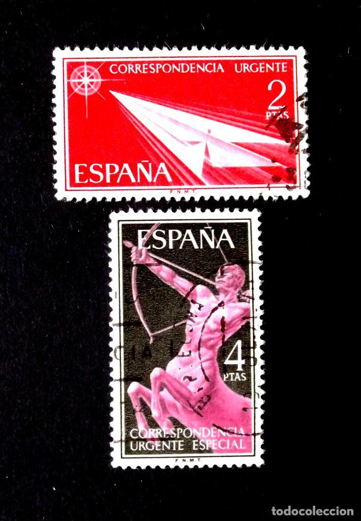 1185-6, SERIE EN USADO. (Sellos - España - II Centenario De 1.950 a 1.975 - Usados)