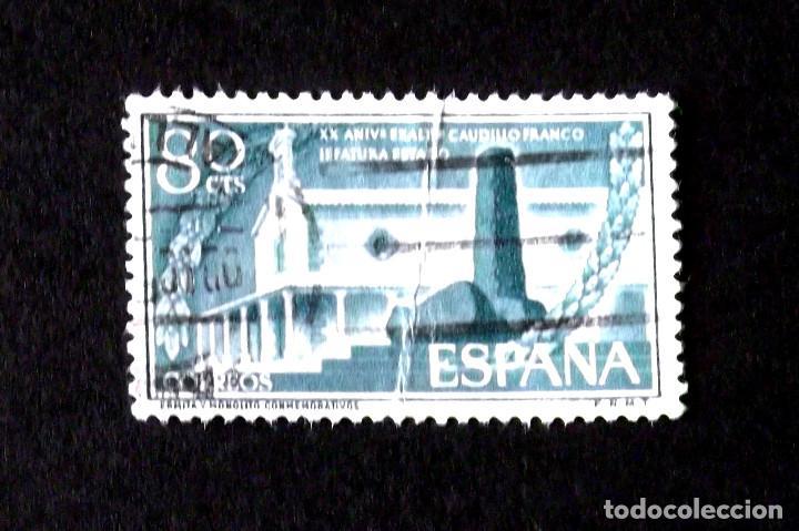 1199, SERIE EN USADO. (Sellos - España - II Centenario De 1.950 a 1.975 - Usados)