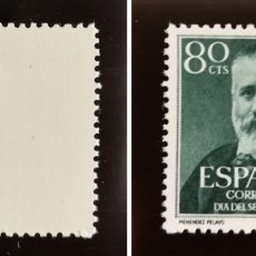 Sellos: ESPAÑA N°1142 MNH** PELAYO (FOTOGRAFÍA REAL). Lote 263635880