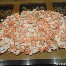 Selos: LOTE DE MAS DE 22000 SELLOS DEL PESETA DE FRANCO USADOS. Lote 264057500