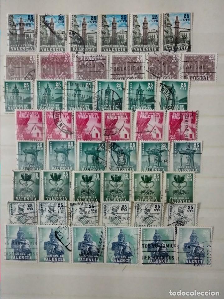 SELLOS USADOS PLAN SUR VALENCIA (Sellos - España - II Centenario De 1.950 a 1.975 - Usados)