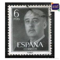 Timbres: ESPAÑA 1955-56. EDIFIL 1161. GENERAL FRANCO. USADO. Lote 264556744