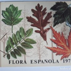 Sellos: EMISION CARPETA FLORA ESPAÑOLA 1972 EDIFIL 2085 ** A 2089 **. Lote 264755594