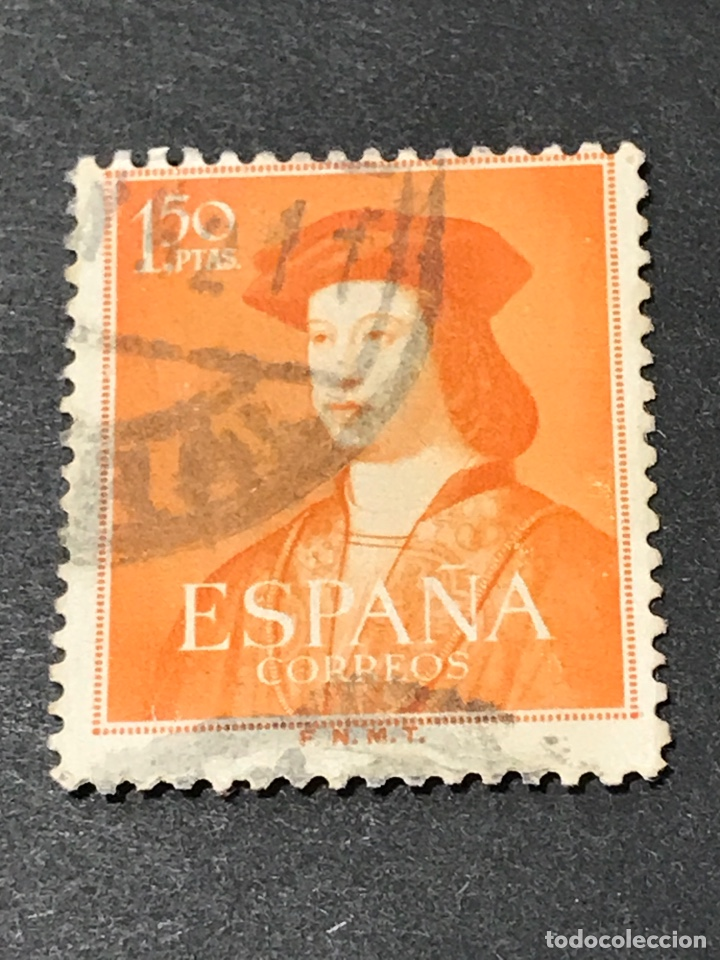 EDIFIL 1109 1,50 PTS FERNANDO EL CATOLICO, USADO, EL DE LA FOTO (Sellos - España - II Centenario De 1.950 a 1.975 - Usados)