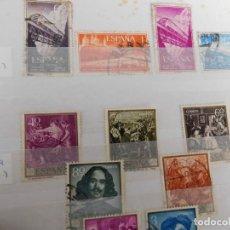 Sellos: 17 SELLOS USADOS DESDE 1958 A 1959. VER REFERENCIAS ABAJO.. Lote 266599328