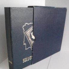 Sellos: ALBUM SELLOS DE ESPAÑA. PHILOS. 1949 - 1980. CORREOS. NO COMPLETA. SELLOS USADOS. FILATELIA.. Lote 267047899