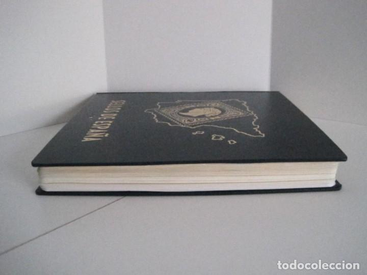 Sellos: ALBUM SELLOS DE ESPAÑA. PHILOS. 1949 - 1980. CORREOS. NO COMPLETA. SELLOS USADOS. FILATELIA. - Foto 10 - 267047899