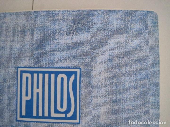 Sellos: ALBUM SELLOS DE ESPAÑA. PHILOS. 1949 - 1980. CORREOS. NO COMPLETA. SELLOS USADOS. FILATELIA. - Foto 14 - 267047899