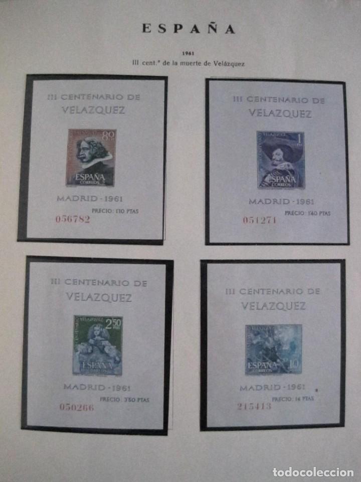 Sellos: ALBUM SELLOS DE ESPAÑA. PHILOS. 1949 - 1980. CORREOS. NO COMPLETA. SELLOS USADOS. FILATELIA. - Foto 21 - 267047899
