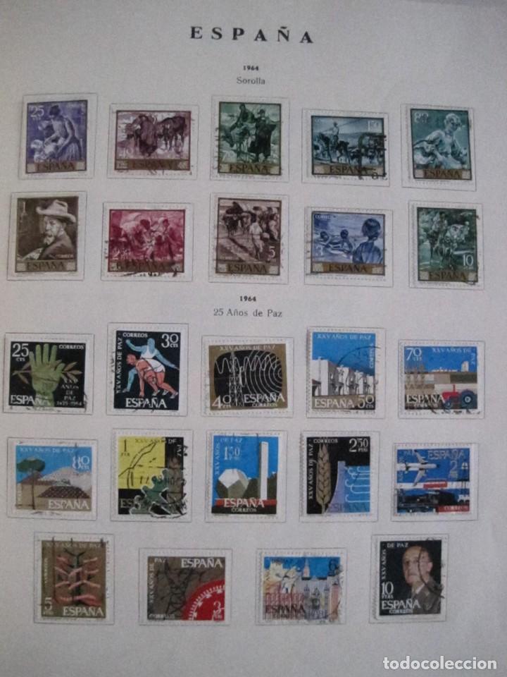 Sellos: ALBUM SELLOS DE ESPAÑA. PHILOS. 1949 - 1980. CORREOS. NO COMPLETA. SELLOS USADOS. FILATELIA. - Foto 22 - 267047899