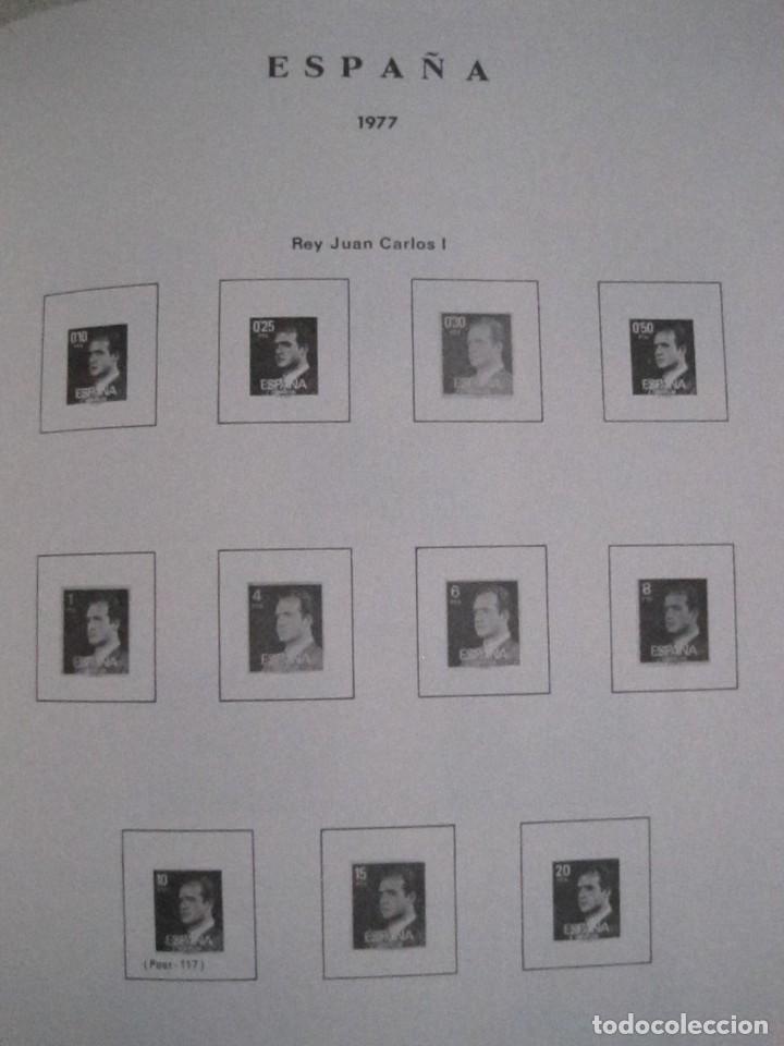 Sellos: ALBUM SELLOS DE ESPAÑA. PHILOS. 1949 - 1980. CORREOS. NO COMPLETA. SELLOS USADOS. FILATELIA. - Foto 30 - 267047899