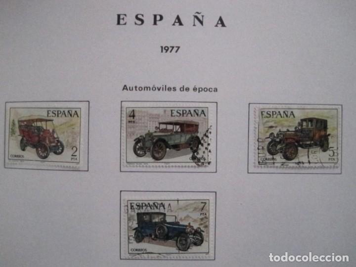 Sellos: ALBUM SELLOS DE ESPAÑA. PHILOS. 1949 - 1980. CORREOS. NO COMPLETA. SELLOS USADOS. FILATELIA. - Foto 31 - 267047899
