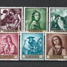 Sellos: ESPAÑA 1962 SERIE COMPLETA * MH - 2/32. Lote 267104934