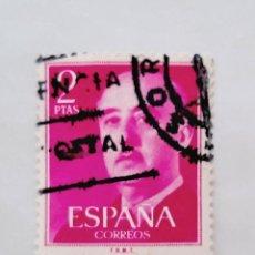 Sellos: 1 SELLO USADO, AÑO 1955, EDIFIL 1157, 2 PESETAS. ROJO, FRANCO.. Lote 267523239