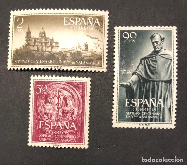 SEP CENTENARIO UNIVERSIDAD SALAMANCA 1953 (Sellos - España - II Centenario De 1.950 a 1.975 - Nuevos)