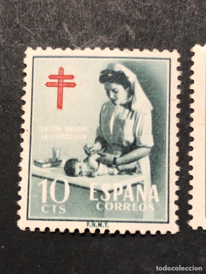Sellos: Pro tuberculosos 1953 Cruz de Lorena - Foto 2 - 267641849