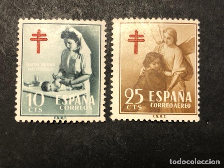 PRO TUBERCULOSOS 1953 CRUZ DE LORENA (Sellos - España - II Centenario De 1.950 a 1.975 - Nuevos)