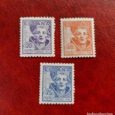 Selos: ESPAÑA 1942. EDIFIL 954/6**. NUEVOS SIN FIJASELLOS. Lote 267762919