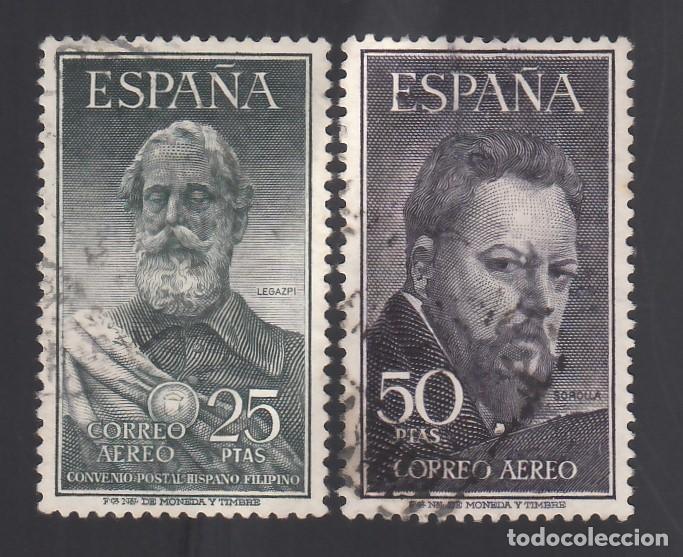 ESPAÑA. 1953 EDIFIL Nº 1124 / 1125, LEGAZPI Y SOROLLA (Sellos - España - II Centenario De 1.950 a 1.975 - Usados)