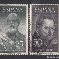 Timbres: ESPAÑA. 1953 EDIFIL Nº 1124 / 1125, LEGAZPI Y SOROLLA. Lote 268766149